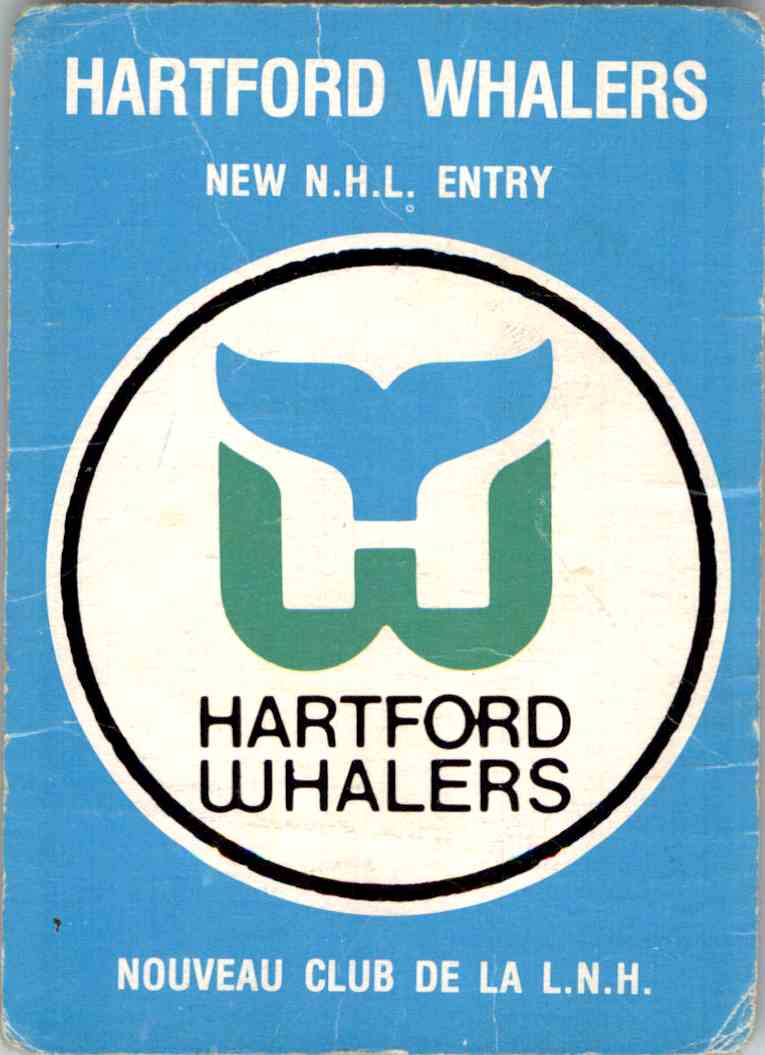 1979-80 O-Pee-Chee Whalers Logo Checklist #163 card front image