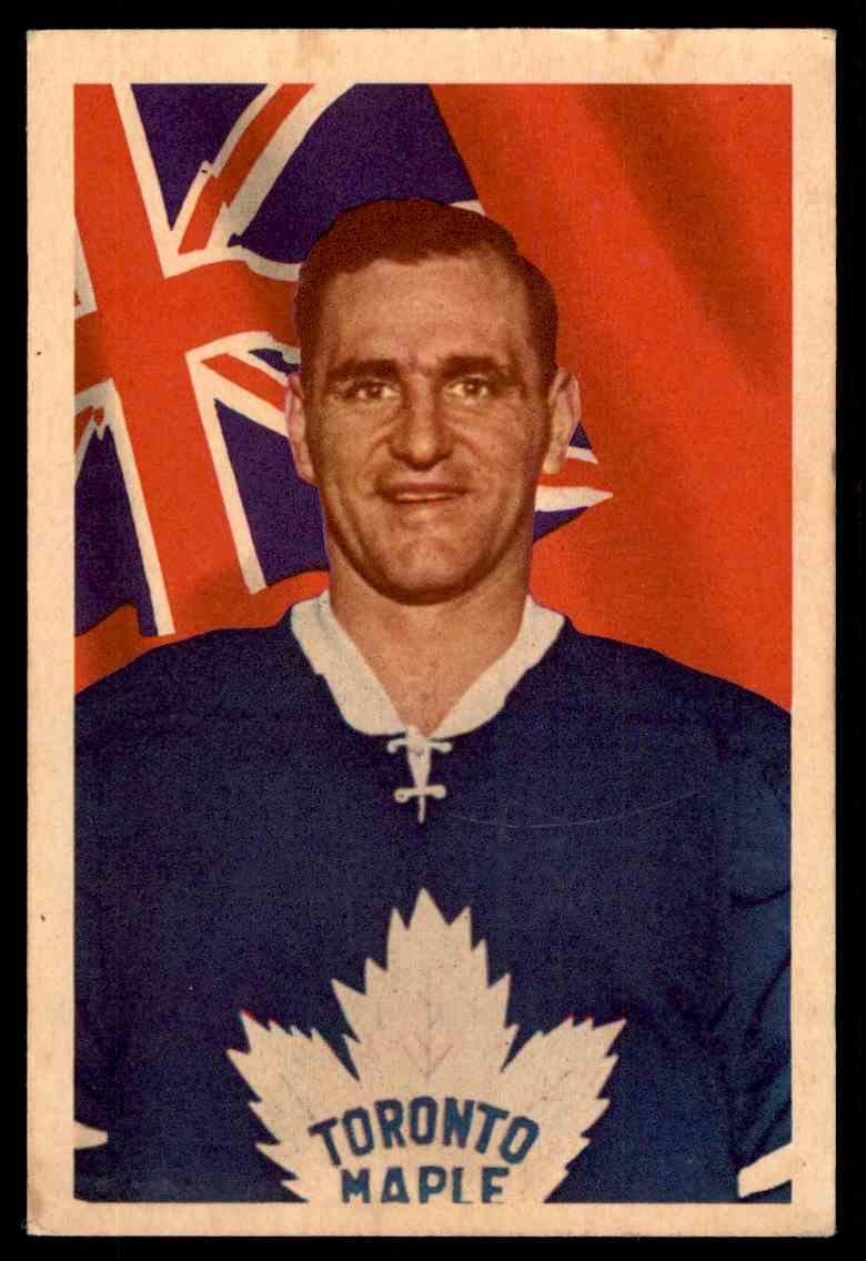 1963-64 Parkhurst Bob Baun #18 card front image