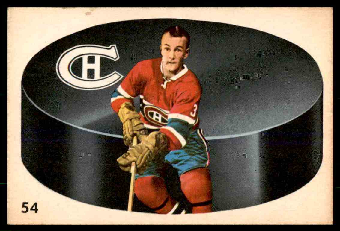 1962-63 Parkhurst Jean Claude Tremblay #54 card front image