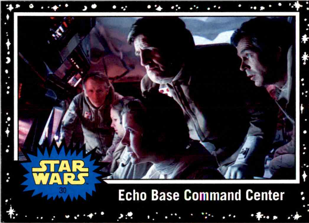 2017 Topps Star Wars Echo Base Command Center card front image