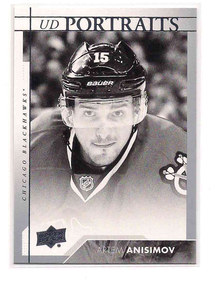 2017-18 Upper Deck Young Guns Artem Anisimov #P-5 card front image