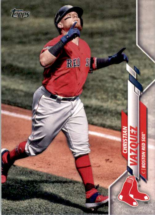 2020 Topps Christian Vazquez #63 card front image