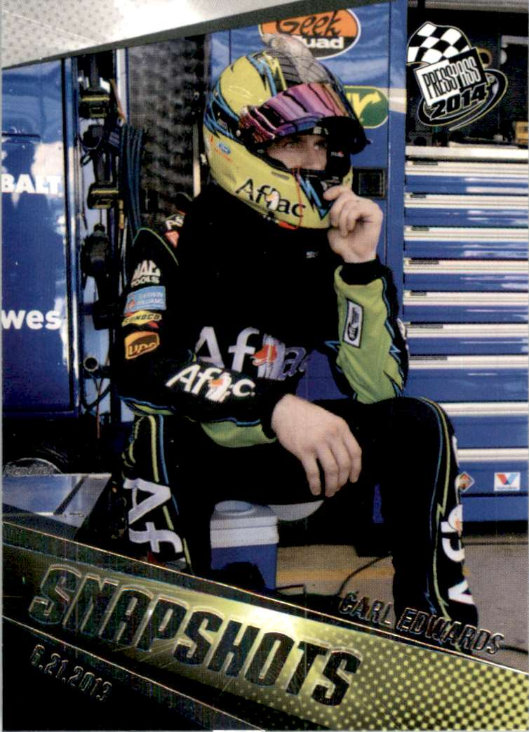 2014 Press Pass Carl Edwards Ss #91 card front image
