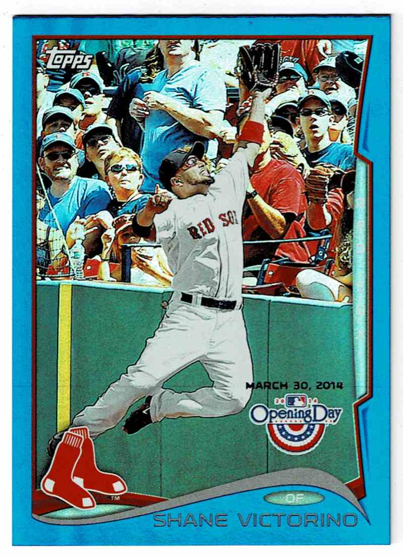 2014 Topps Opening Day Blue Shane Victorino #194 card front image