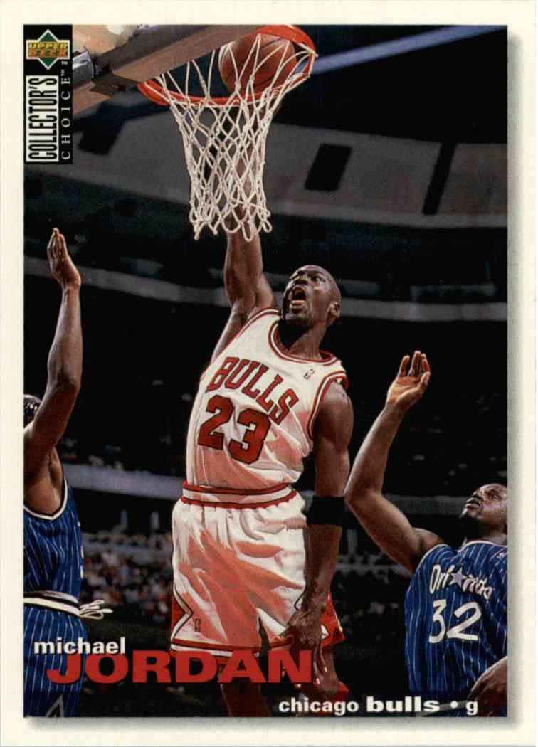 1995 Upper 96 Kronozio Michael Collector's Jordan20 On Deck Choice LpjSGqUzMV