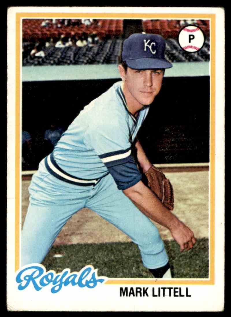 1978 Topps Mark Littell #331 card front image