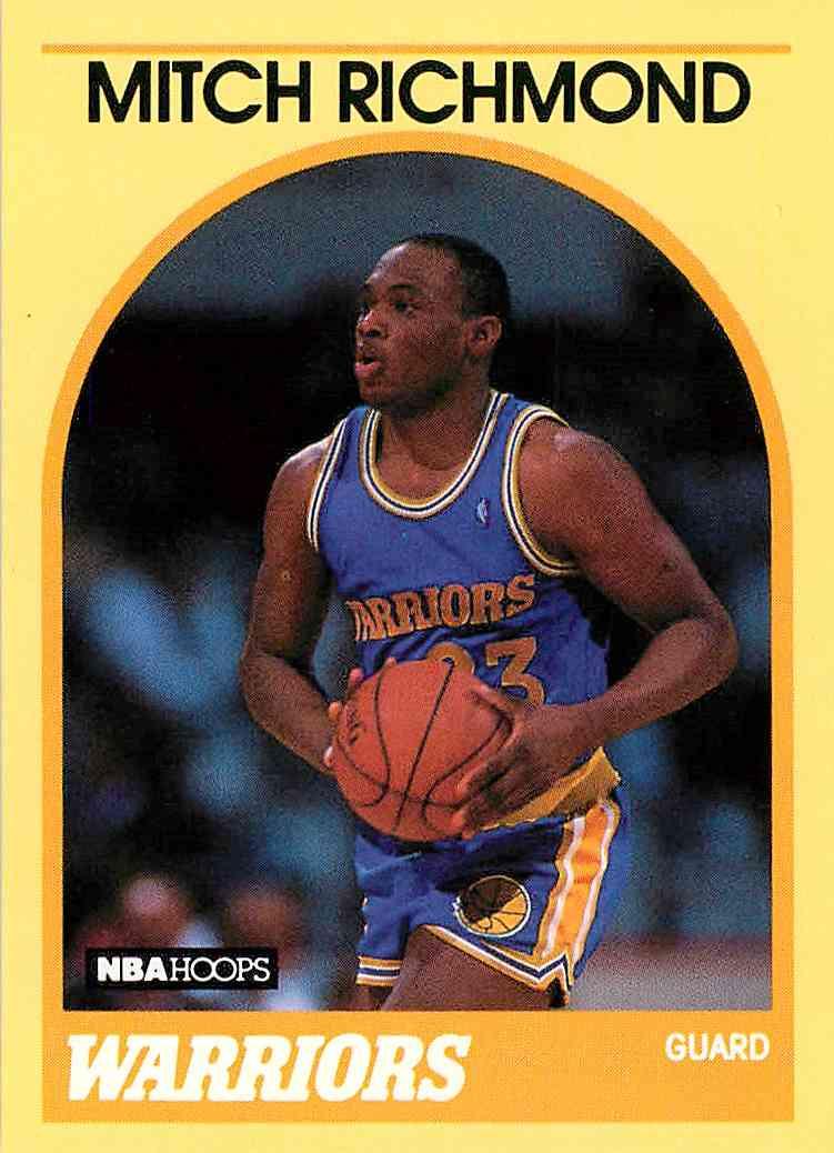 1990-91 Hoops 100 Superstars Mitch Richmond #31 card front image