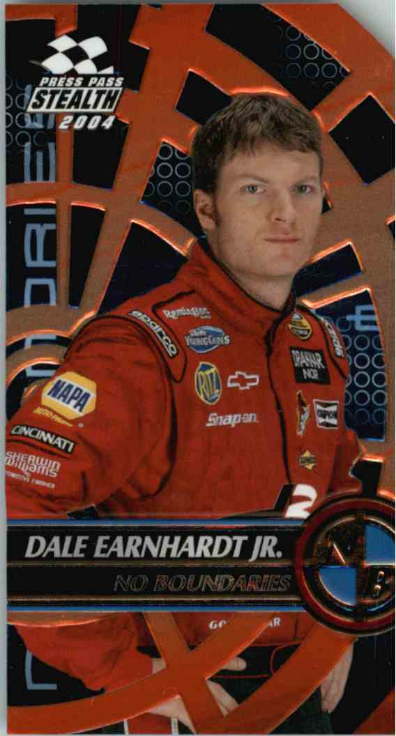 2004 Press Pass Stealth Dale Earnhardt JR. #NB11 card front image
