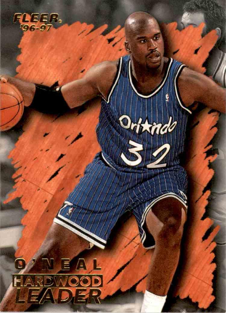 1996-97 Fleer Shaquille O'Neal Hl #138 card front image