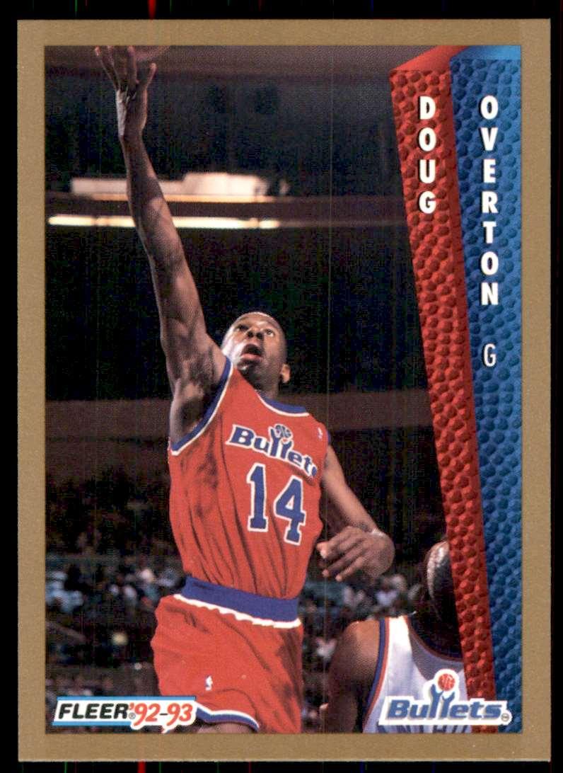 1992-93 Fleer Doug Overton #441 card front image