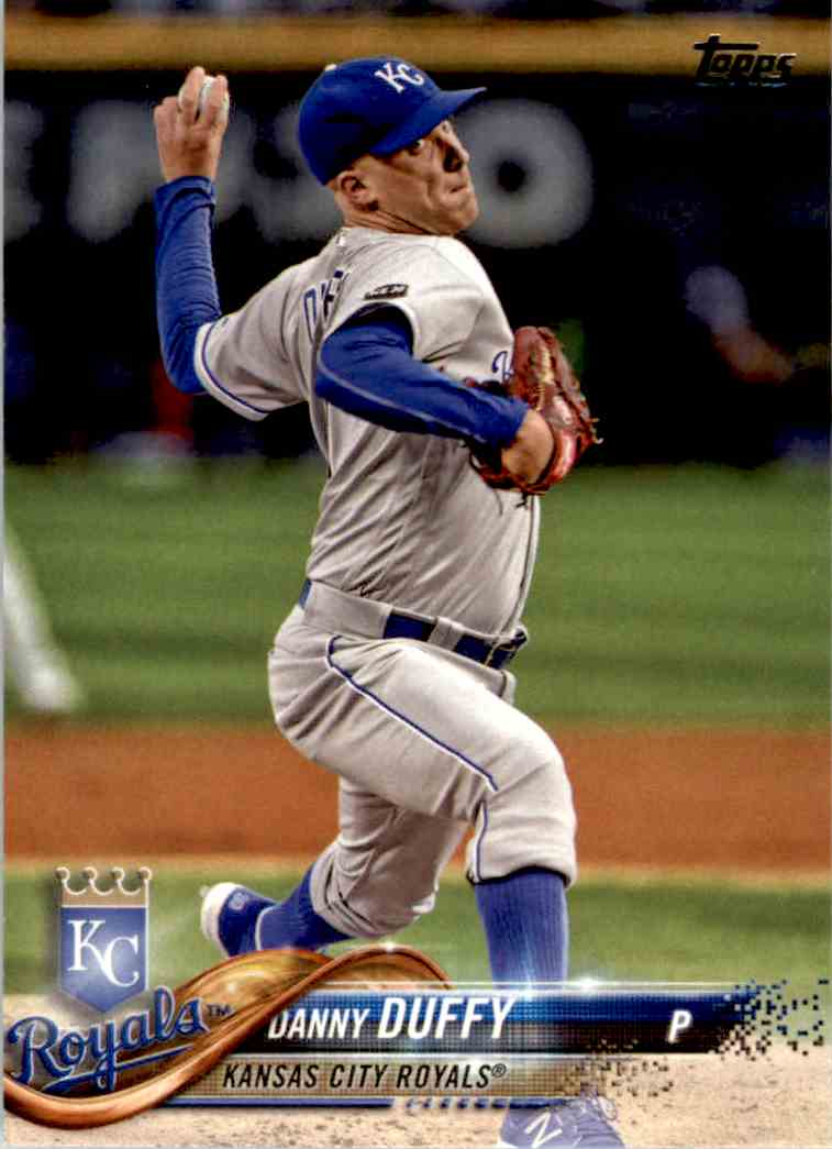 2018 Topps Danny Duffy #318 card front image