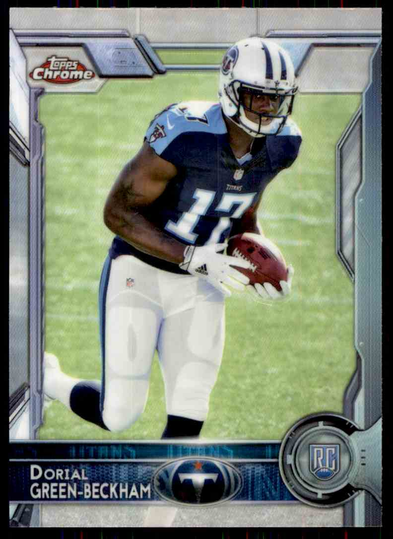 2015 Topps Chrome Refractor Dorial Green-Beckham #106 card front image