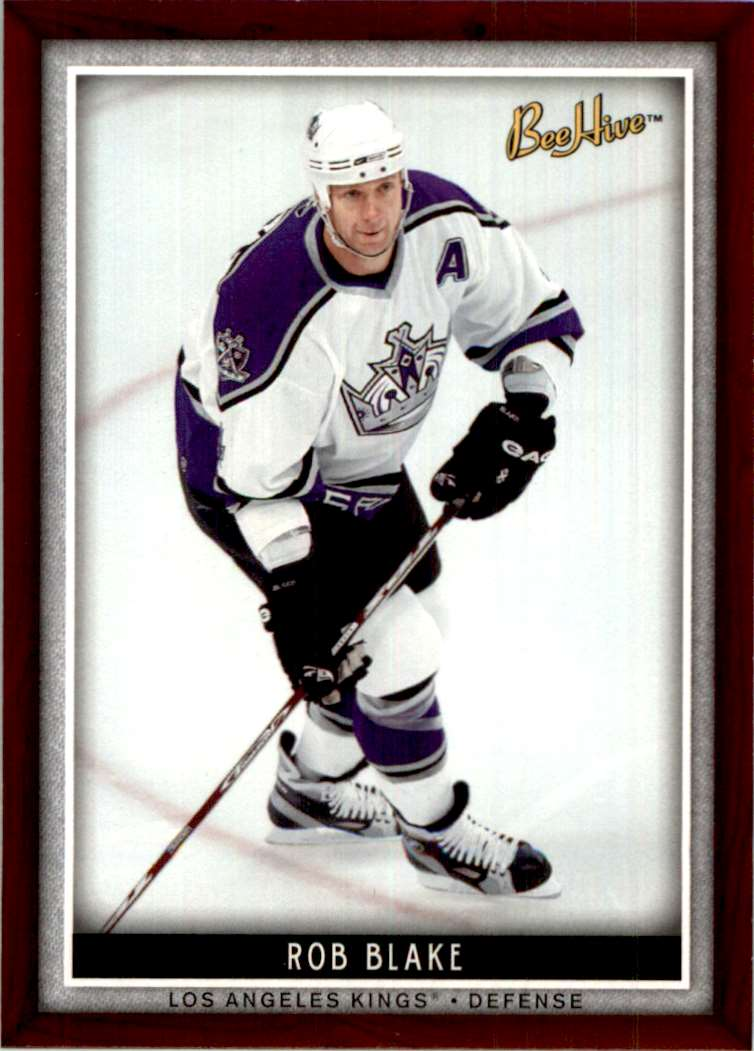 2006-07 Upper Deck Beehive Rob Blake #56 card front image