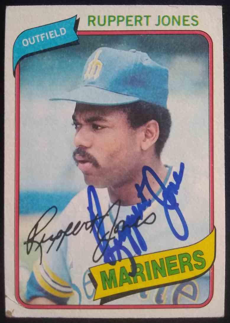 1980 Topps Ruppert Jones #78 card front image