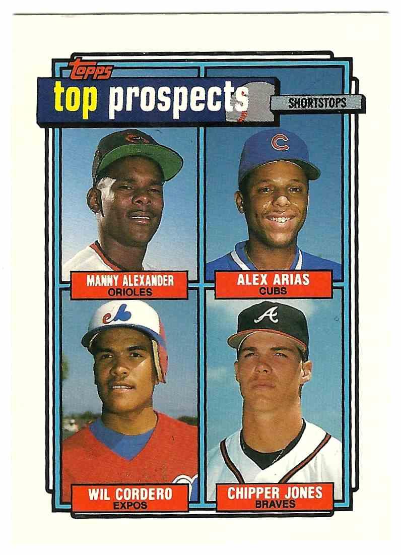 1992 Topps Top Prospects Hof Chipper Jones 551 On