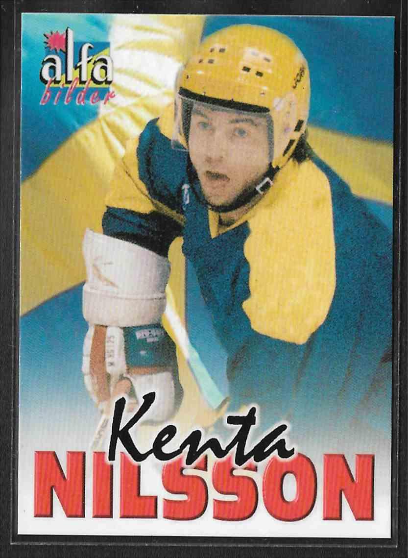 2004-05 Alfabilder Alfa Stars Alfa Proof Kent Nilsson #53 card front image