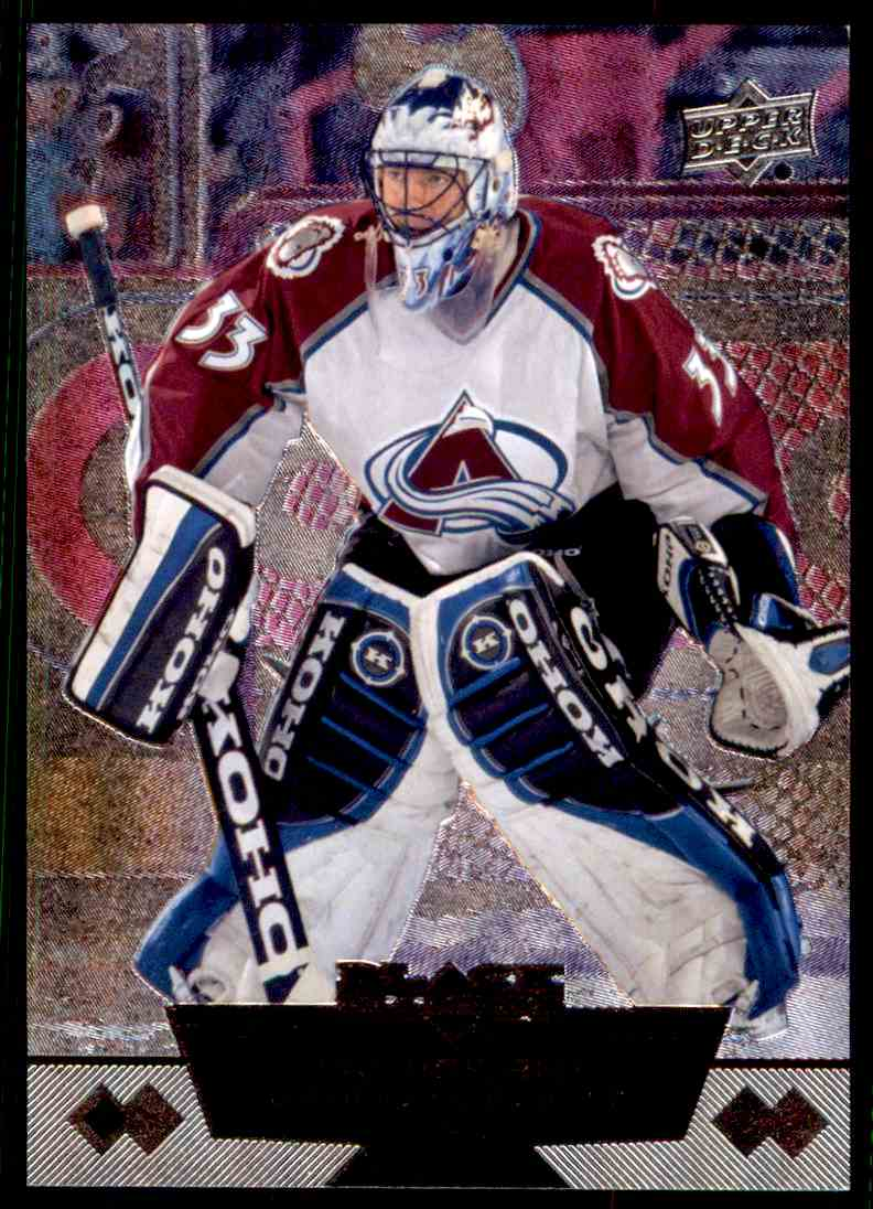 2012-13 Upper Deck Black Diamond Patrick Roy #60 card front image