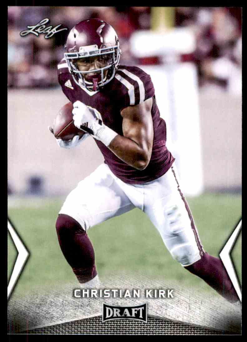 2018 Leaf Draft Christian Kirk #11 card front image