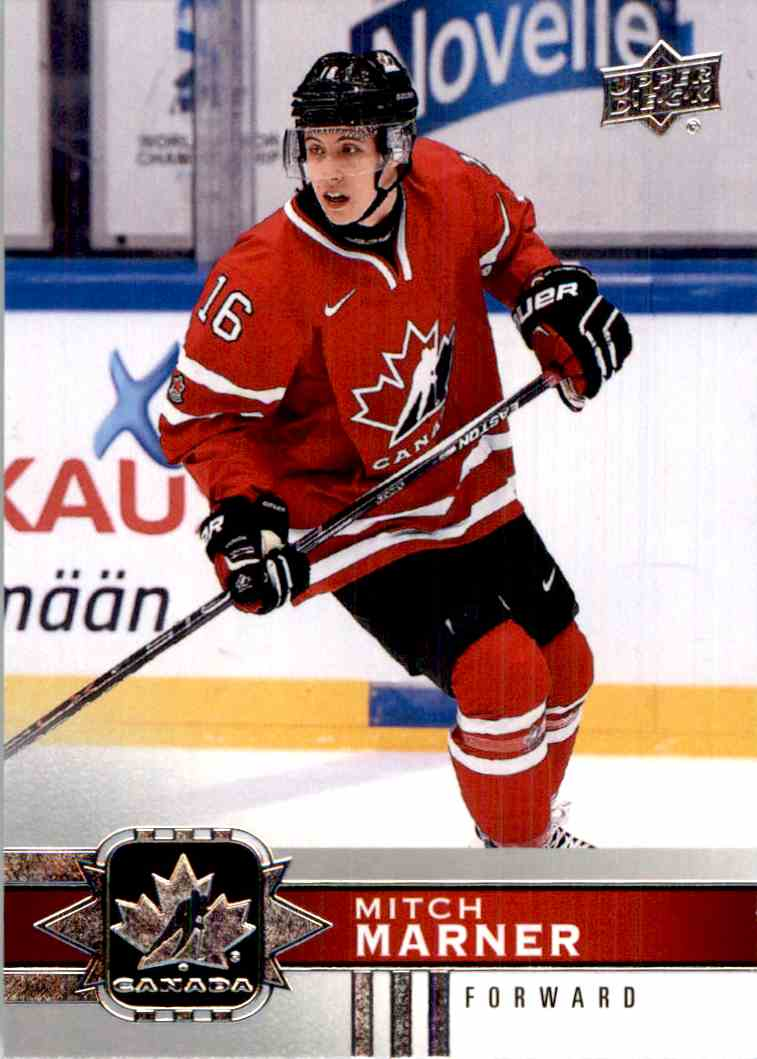 2017-18 Upper Deck Team Canada Short Print Mitch Marner #130 card front image