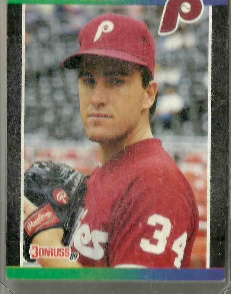 1989 Donruss Alex Madrid #604 card front image