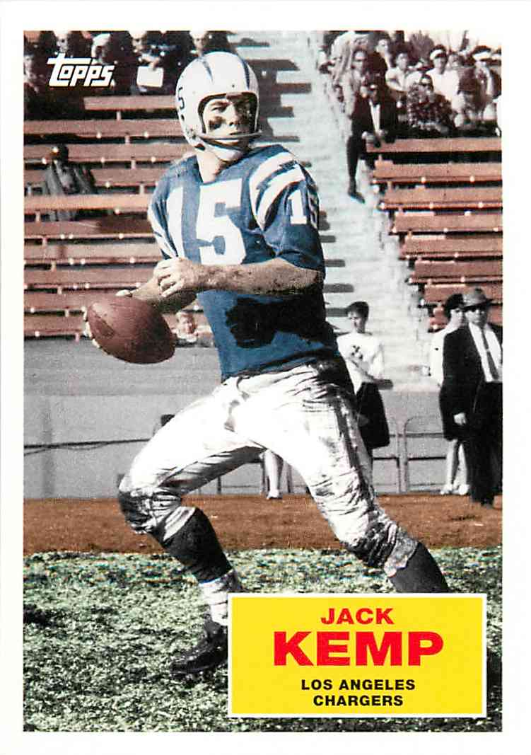 2009 Topps Jack Kemp #FB2 card front image