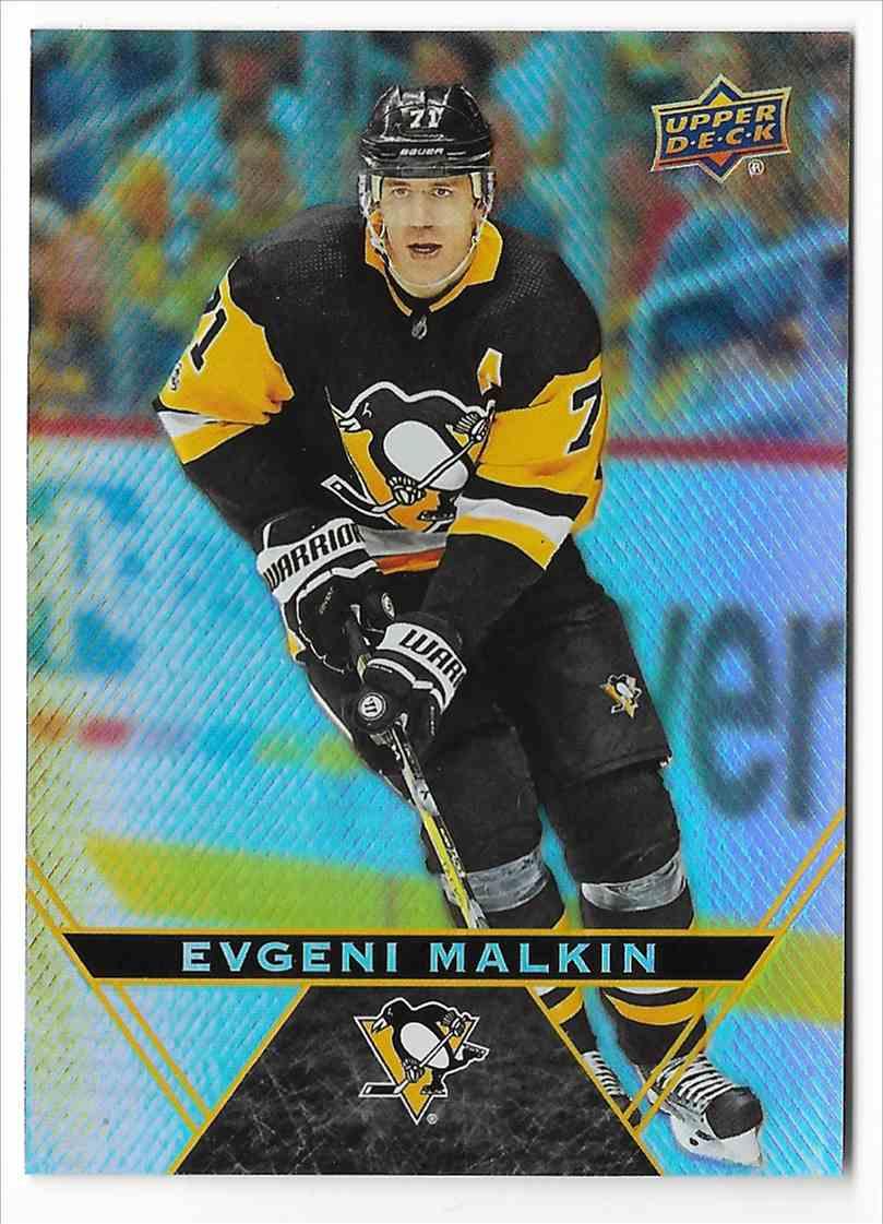 2018-19 Upper Deck Tim Hortons Evgeni Malkin #71 card front image