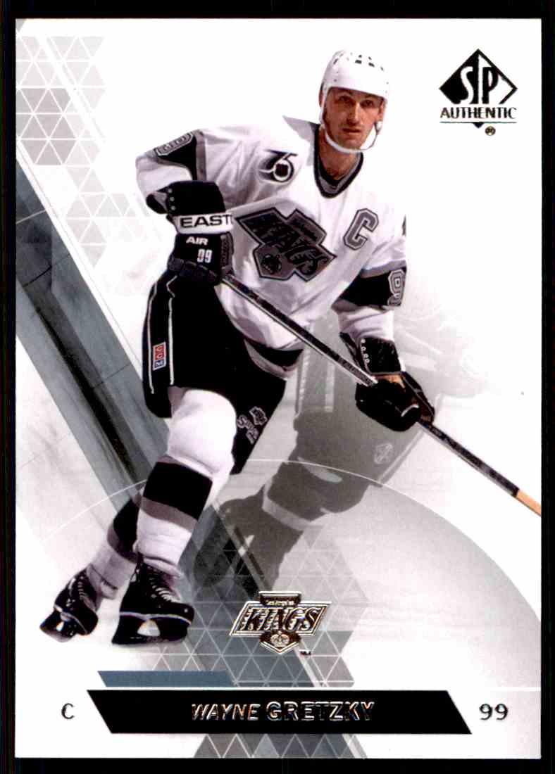 2013-14 SP Authentic Wayne Gretzky #50 card front image