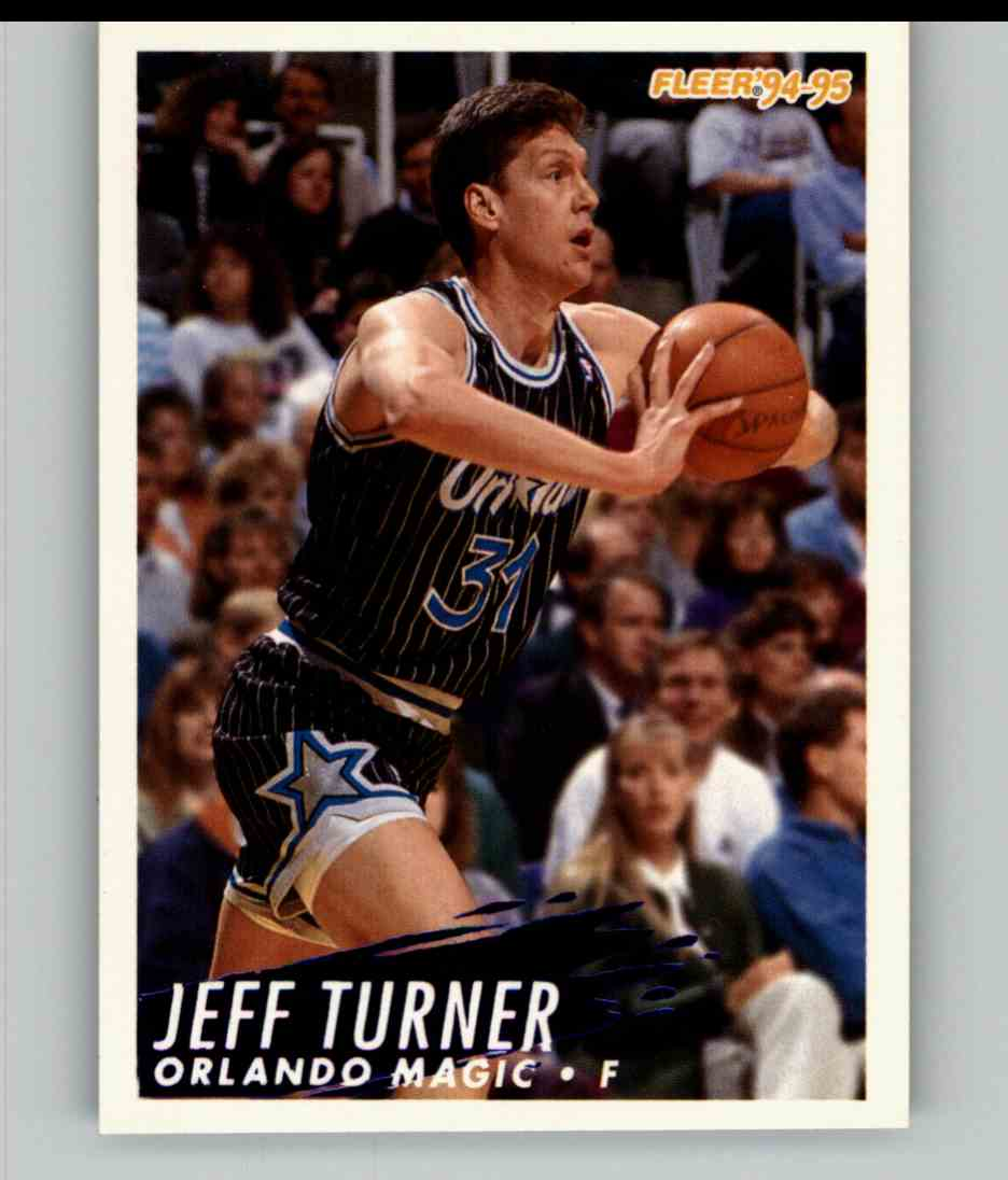 1994-95 Fleer Jeff Turner #164 card front image