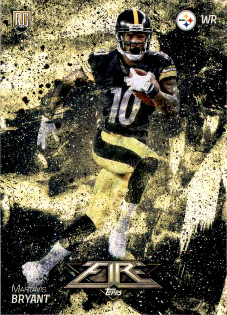 2014 Topps Fire Martavis Bryant RC #110 card front image