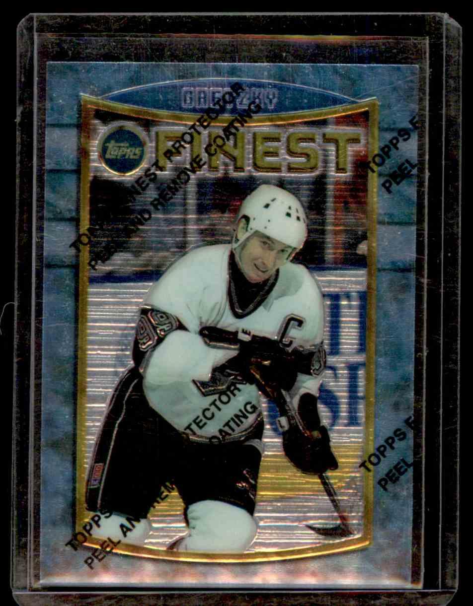1994-95 Finest Wayne Gretzky #41 card front image