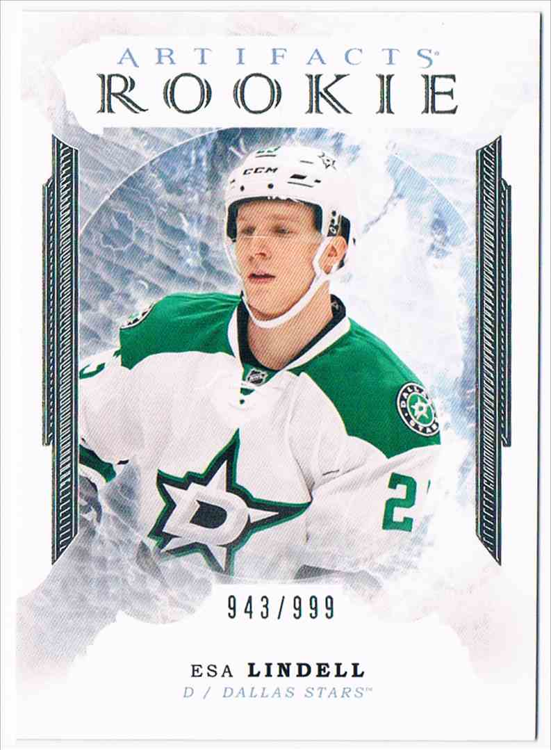 2016-17 Artifacts Esa Lindell #173 card front image