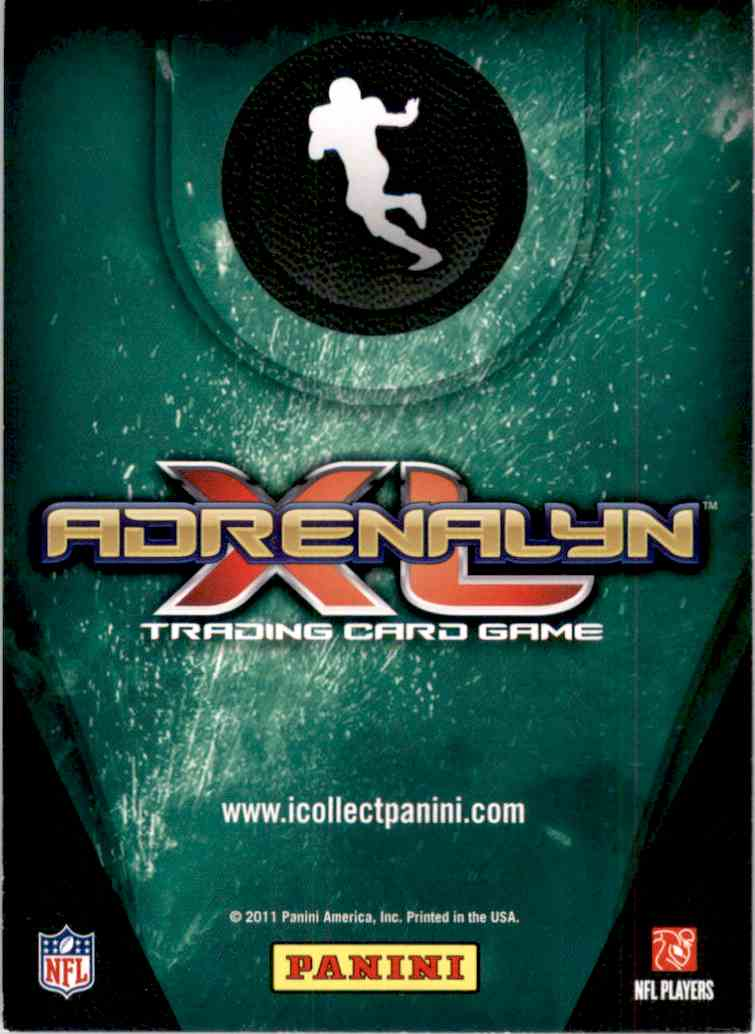 2011 Adrenalyn XL Extra Signature Arian Foster #ES13 card back image