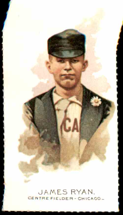 1888 Allen And Ginter N29 Reprint James Ryan #6 card front image