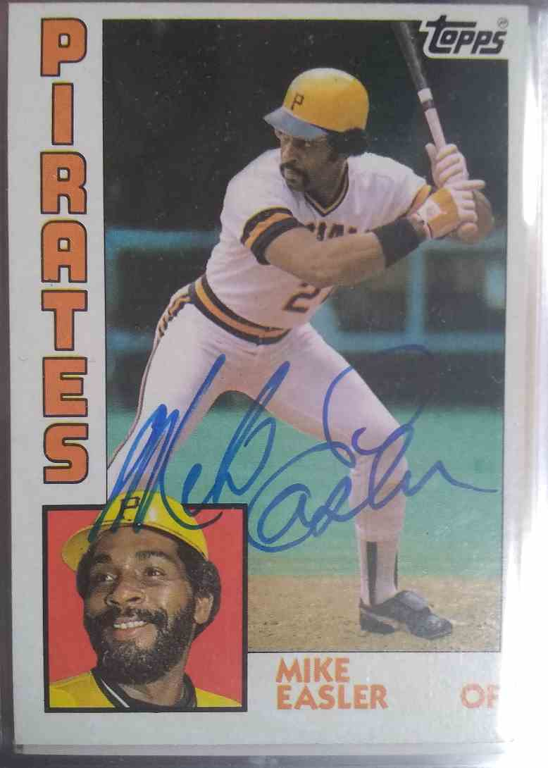 1984 Topps Mike Easler #589 card front image