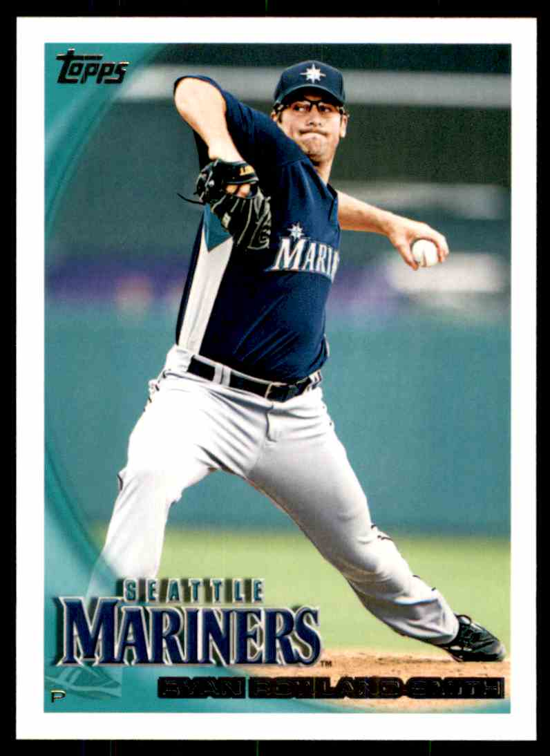2010 Topps Ryan Rowland-Smith #560 card front image