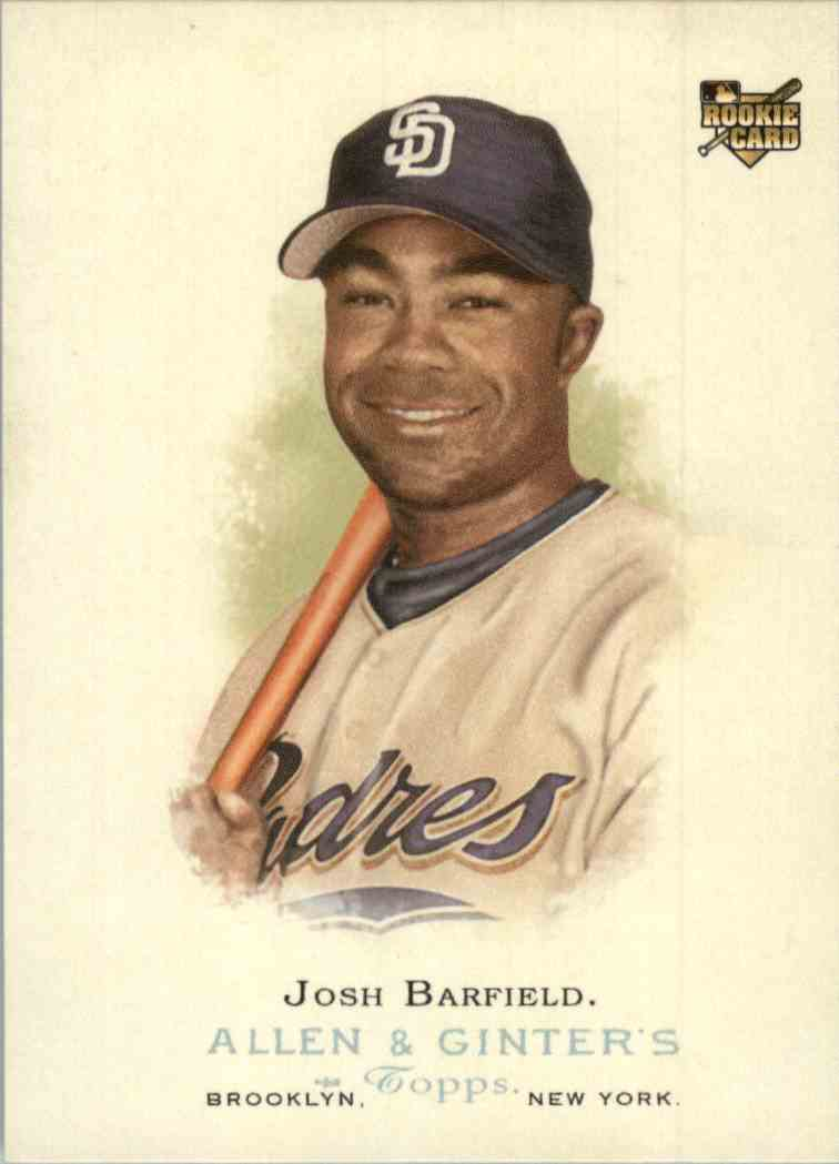 2006 Topps Allen & Ginter Josh Barfield #251 card front image