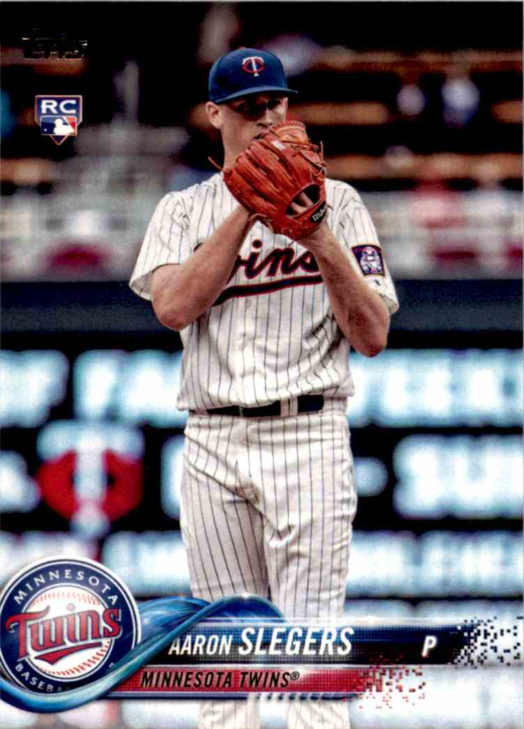 2018 Topps Series One Aaron Slegers #277 card front image