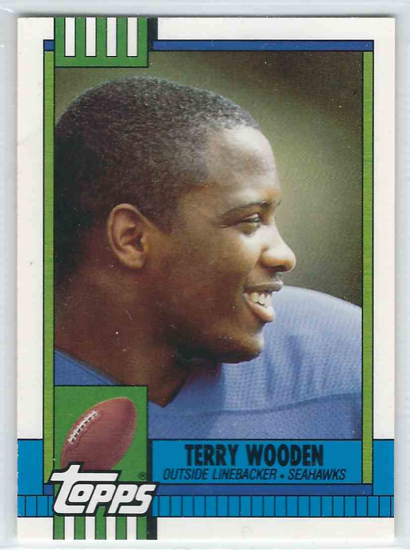 1990 Topps Traded Terry Wooden #116T card front image