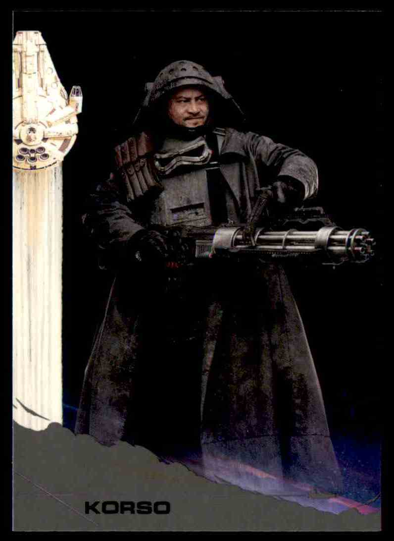 2018 Topps Solo: A Star Wars Story Korso #21 card front image