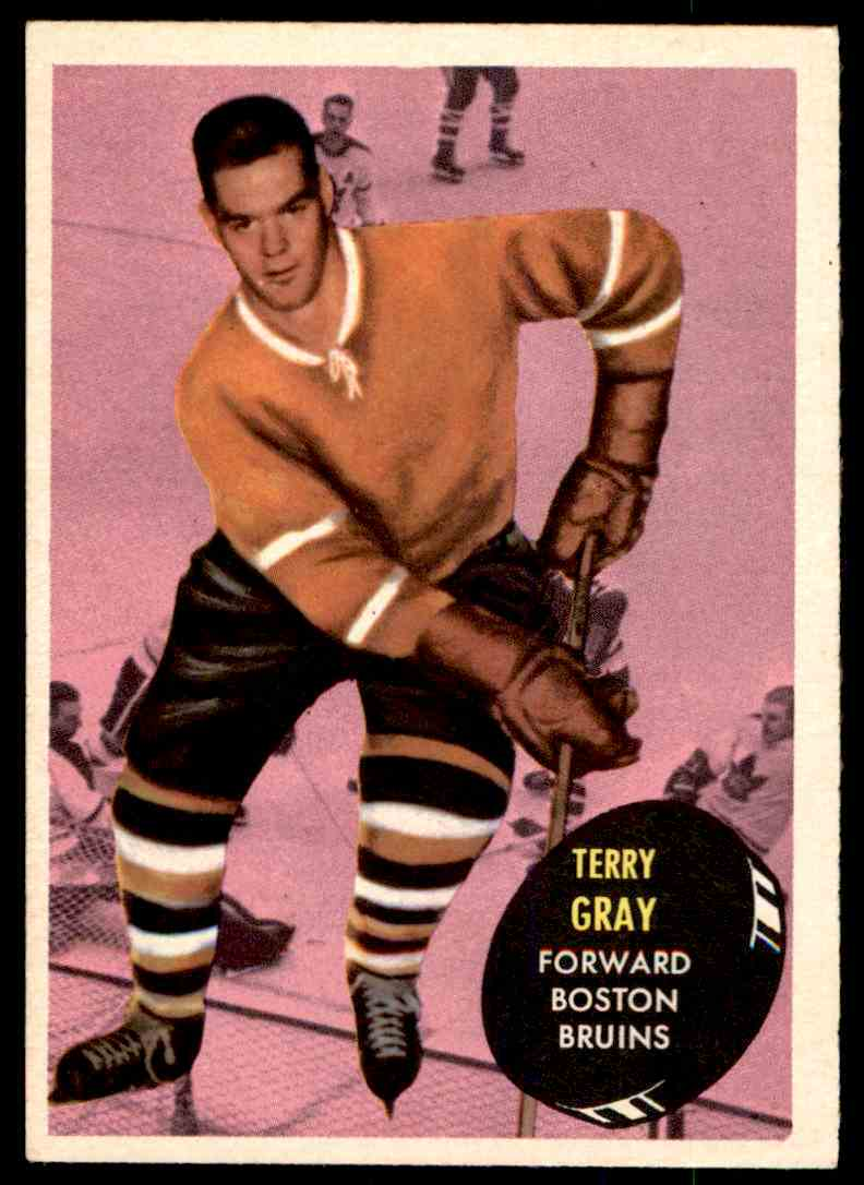 1961-62 Topps Terry Gray #16 card front image