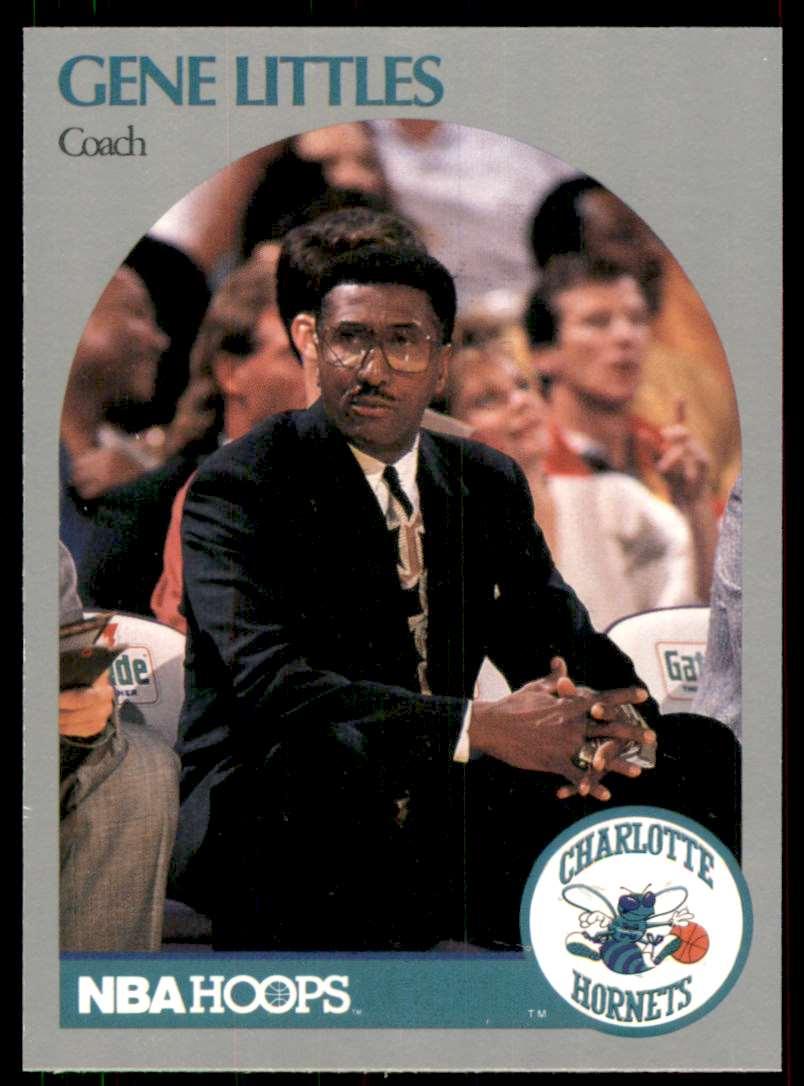 1990-91 Hoops Gene Littles #307 card front image