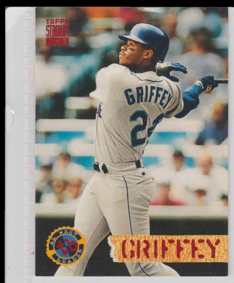 a16d55c48f 1994 Topps Stadium Club Ken Griffey JR #529 card front image