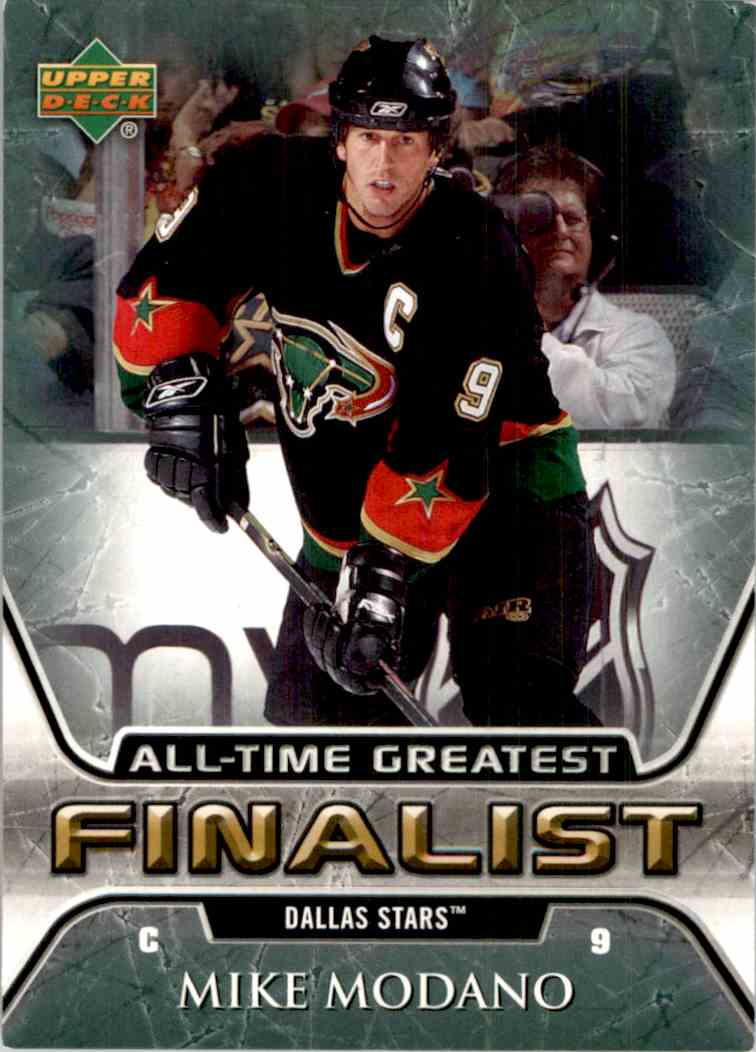 2005-06 Upper Deck All-Time Greatest Mike Modano #19 card front image