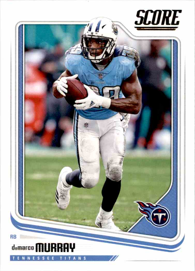 2018 Panini Score DeMarco Murray #313 card front image