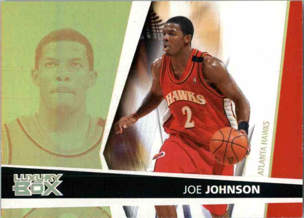 2006-07 Topps Luxury Box Joe Johnson #2 card front image