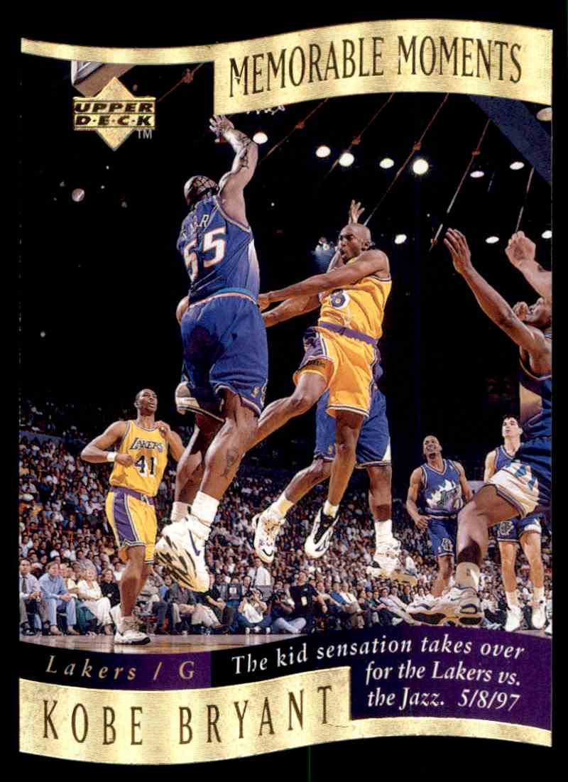 1998-99 Upper Deck Kobe Bryant #4 card back image