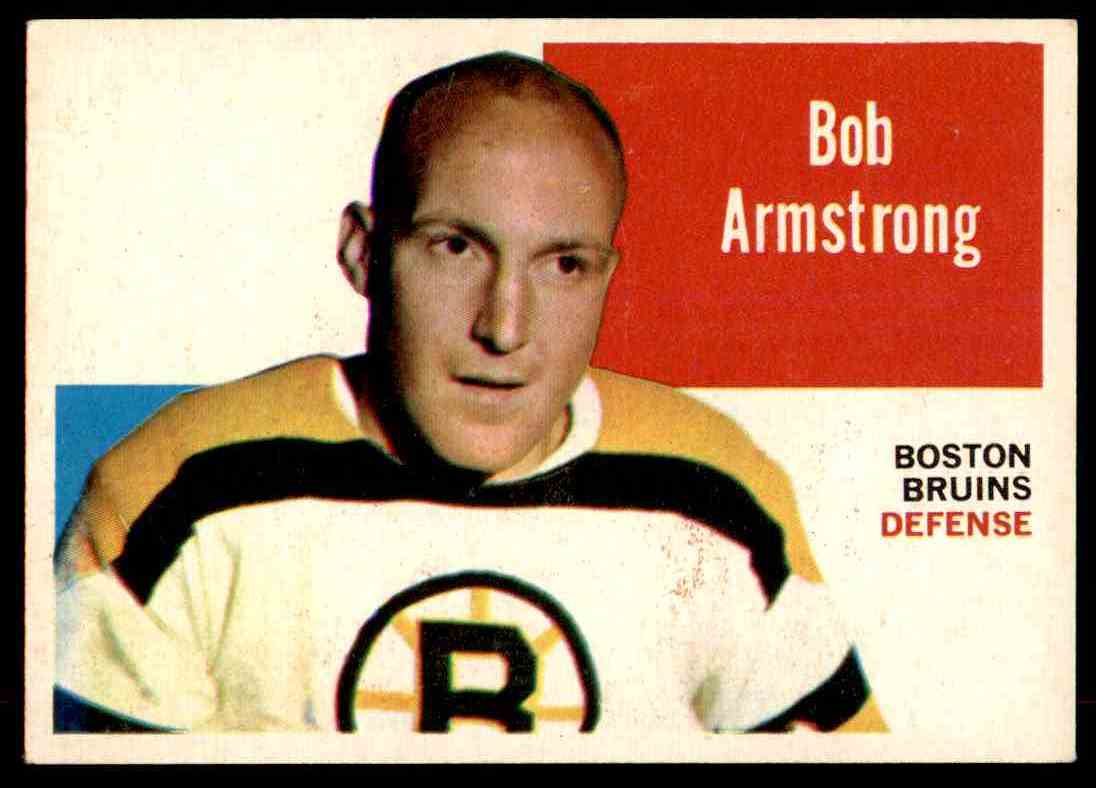 1960-61 Topps Bob Armstrong #56 card front image