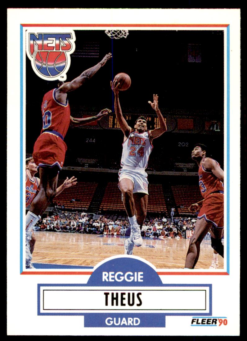 110 Reggie Theus trading cards for sale