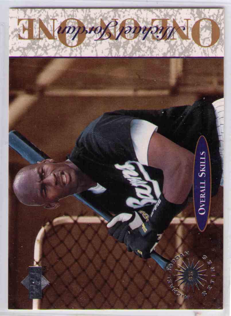 One on One  #5 Michael Jordan 1995 Upperdeck