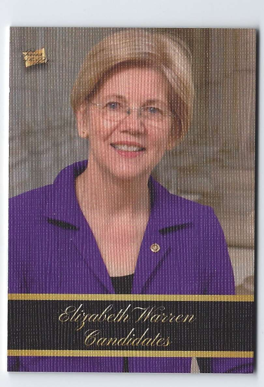 2020 Pieces Of The Past Elizabeth Warren #3 card front image